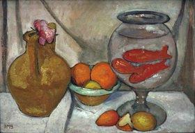 Paula Modersohn-Becker: Still Life with Goldfish