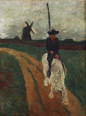 Paula Modersohn-Becker: Don Quichote