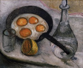 Paula Modersohn-Becker: Still Life with Fried Eggs, c