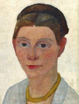 Paula Modersohn-Becker: Autoportrait au collier d'ambre, c