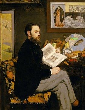 Edouard Manet: Emile Zola