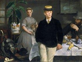 Edouard Manet: Frühstück im Atelier. 1868