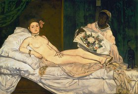 Edouard Manet: Olympia. 1863.