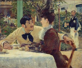 Edouard Manet: Paar bei Pere Lathuille