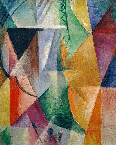 Fenster. Studie für Drei Fenster von Robert Delaunay ...